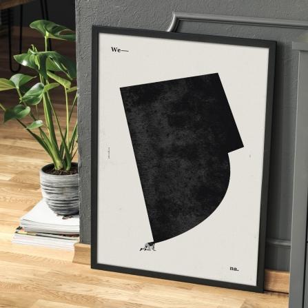 "Plakat ""Wena"", Jakub Kamińsk"
