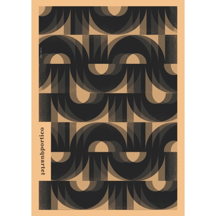 """Plakat """"Portico Quartet"""""""
