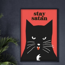 """Stay Satan"", Jakub Zasada, B2"