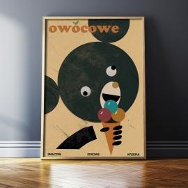 """""""Owocowe"""", Jakub Kamiński, 48x68"""