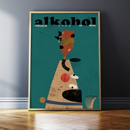 Alkohol powoduje kuku na muniu