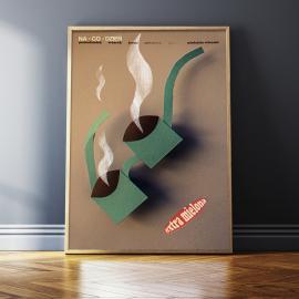 "Plakat ""Extra mielona"", Jakub Kamiński"