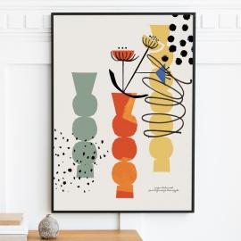 """Plakat """"Bałwanek"""", 50x70 / 30x40"""