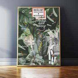 "Plakat ""Wibracje"", Lola Styrylska, 50x70"
