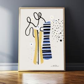 """Plakat """"Flora"""", 50x70 / 30x40"""