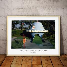 UFO, vintage USA (Tennessee 1986), 50x70cm