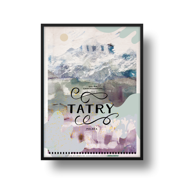 Plakat Tatry
