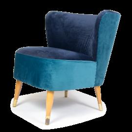 Welurowy fotel klubowy (2)